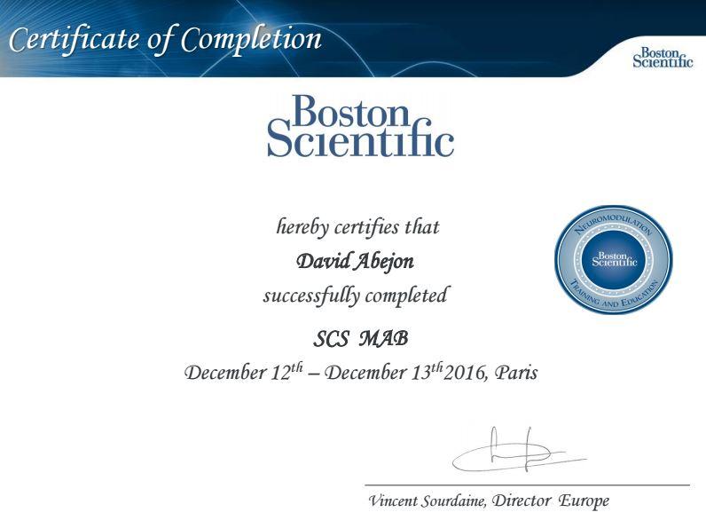 Reunión Boston Scientific
