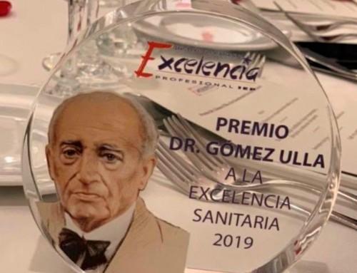 Premio Gómez Ulla a la excelencia sanitaria 2019