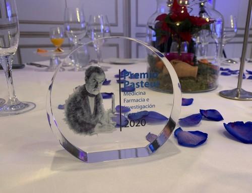 Dr. David Abejón premiado con el Premio Pasteur a la Medicina, Farmacia e Investigación Biomédica 2020