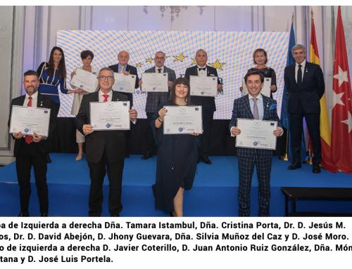 El Dr. David Abejón premiado con la Medalla de Oro Europea al Mérito en el Trabajo 2021